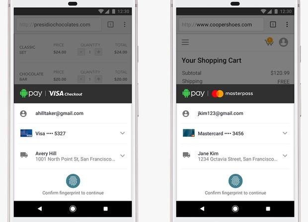 La partnership siglata da Google con Visa e MasterCard porterà all'inclusione, in Android Pay, dei servizi Visa Checkout e Masterpass dedicati ai pagamenti (sia in mobilità che online)