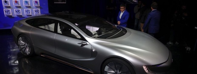 LeEco presenta LeSee Pro, auto a guida autonoma