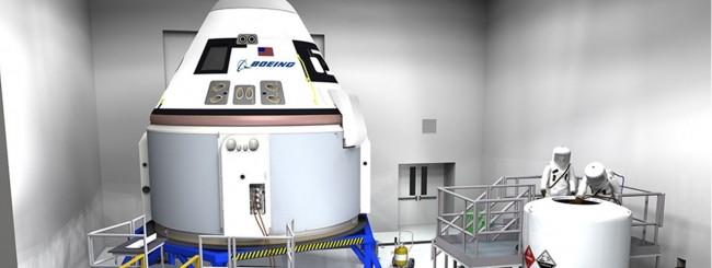 Boeing, il taxi spaziale solo nel 2018
