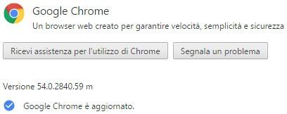 Il browser Chrome di Google si è aggiornato alla versione 54 su Windows, OS X e Linux