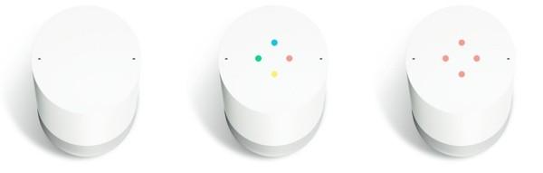Interfaccia cromatica di Google Home