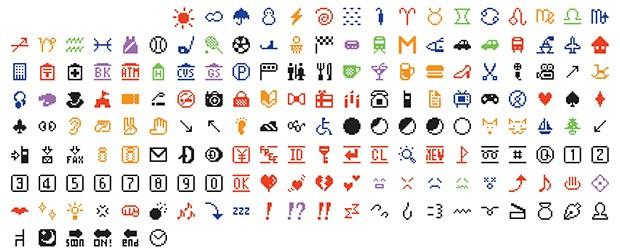 Gli emoji disegnati nel 1999 da Shigetaka Kurita