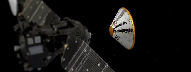 ExoMars, Schiaparelli verso Marte