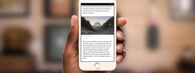 Facebook, gli Instant Articles diventano interattivi