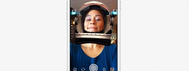 Facebook sfida Snapchat con i filtri facciali