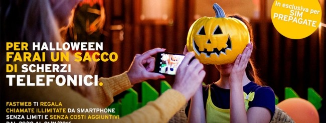 Fastweb Mobile, promozione di Halloween