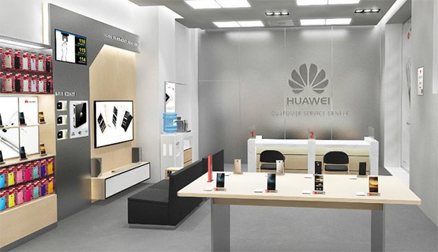 Il Huawei Customer Service Center di Huawei a Milano