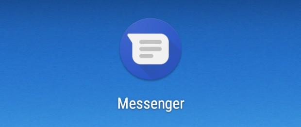 La nuova icona dell'applicazione Google Messenger