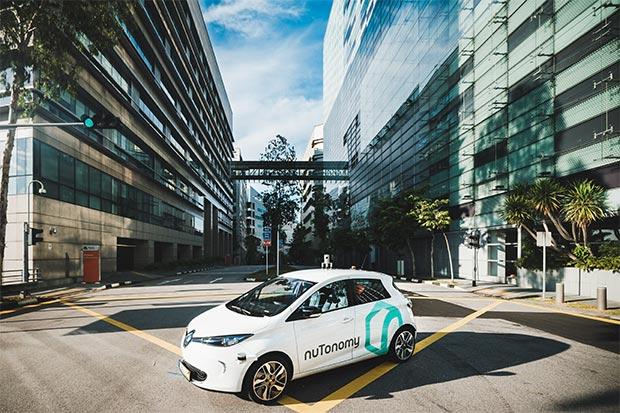 Il taxi a guida autonoma di nuTonomy