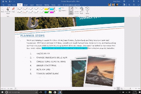 Office 365, le novità in arrivo con Windows 10