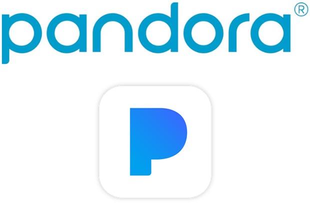 I nuovi loghi di Pandora