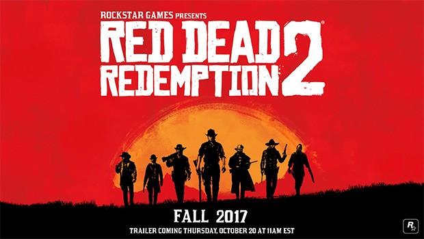 La prima immagine ufficiale di Red Dead Redemption 2: un poster che anticipa l'arrivo del trailer