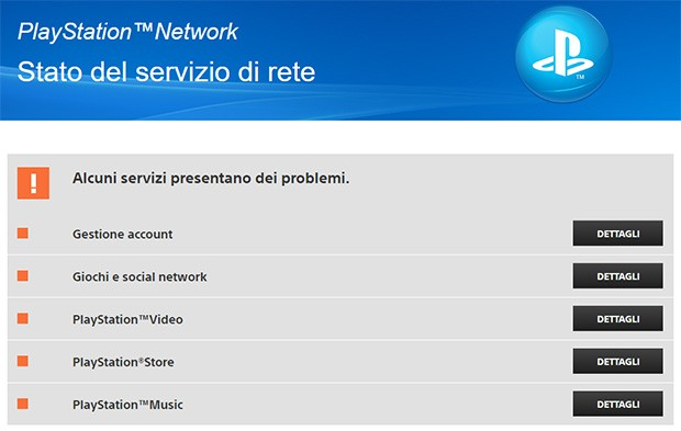 Sony conferma lo stop ai server di PSN