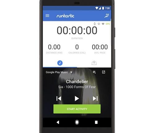 L'integrazione delle playlist di Google Play Musica nell'applicazione Runtastic per il fitness
