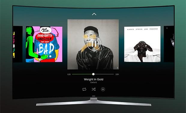 Lo streaming musicale di Spotify sulle smart TV di Samsung