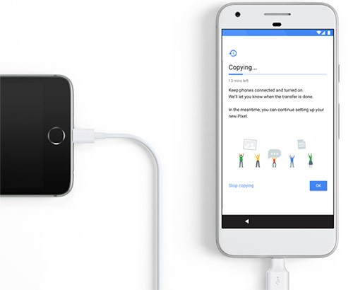 Lo switch da iPhone a Pixel, semplice e veloce