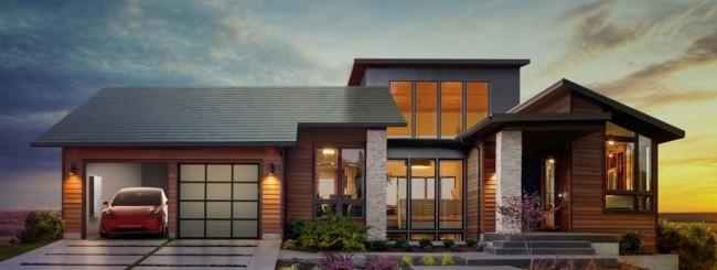 Tesla svela il suo tetto solare