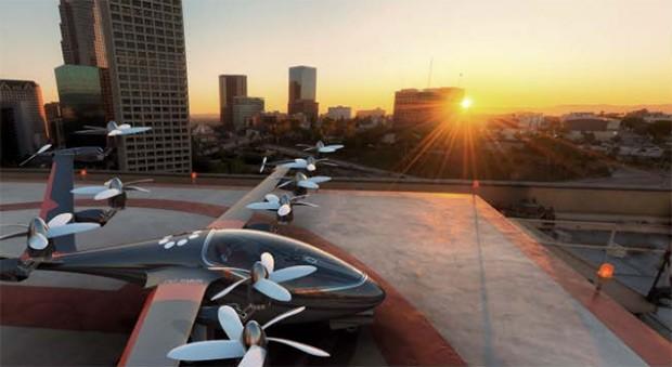 Un altro concept per il velivolo immaginato da Uber