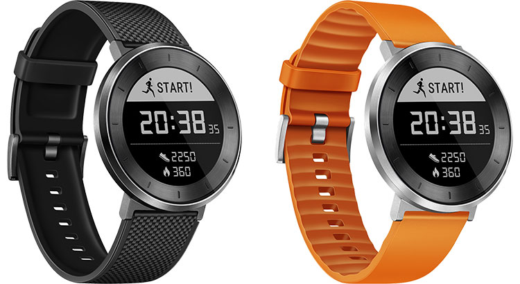 L'orologio Huawei Fit è disponibile nelle colorazioni Black e Orange