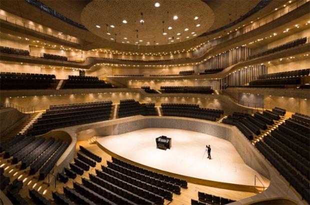 La Grand Hall della Elbphilharmonie