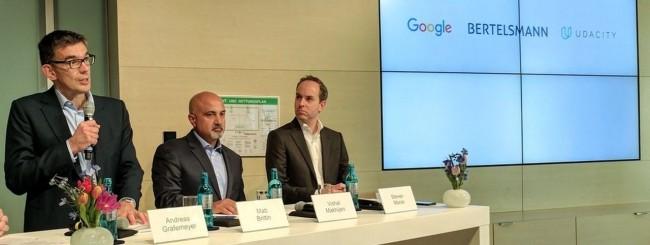 Google - Bertelsmann - Udacity