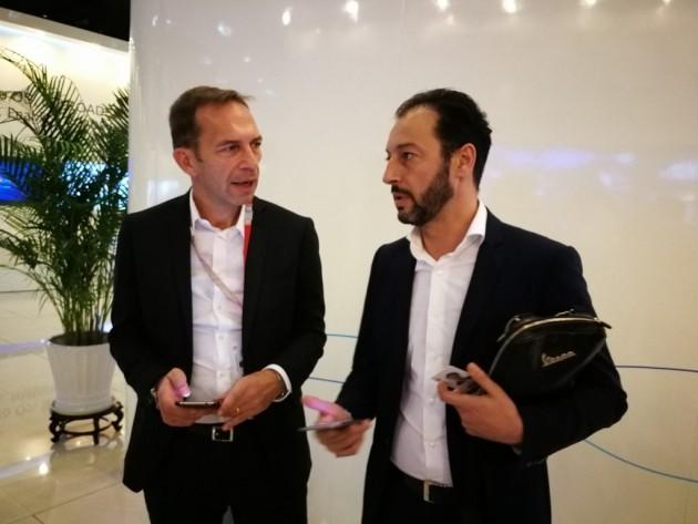 Pier Giorgio Furcas e Lindoro Ettore Patriarca, Huawei Italia