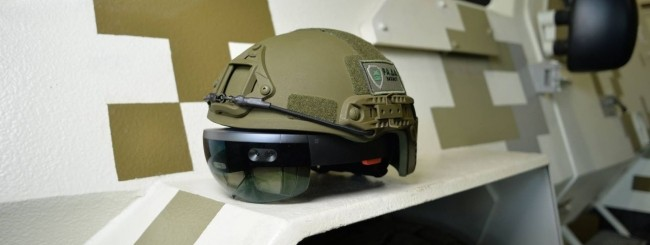 Microsoft HoloLens - Carro armato