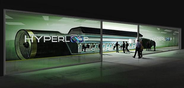 Un concept mostra come saranno le stazioni di Hyperloop