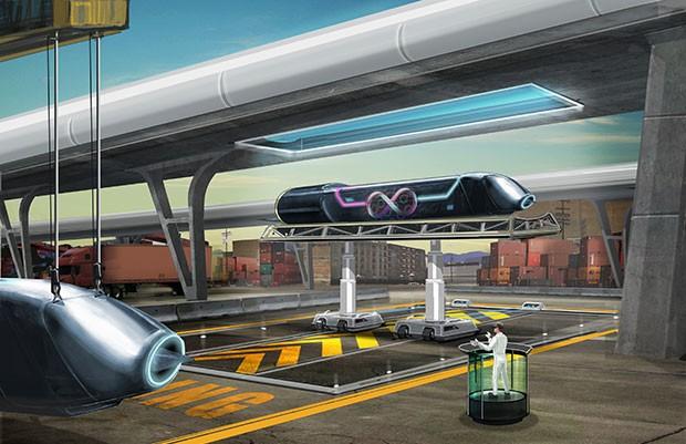 Hyperloop tornerà utile anche per il trasporto delle merci