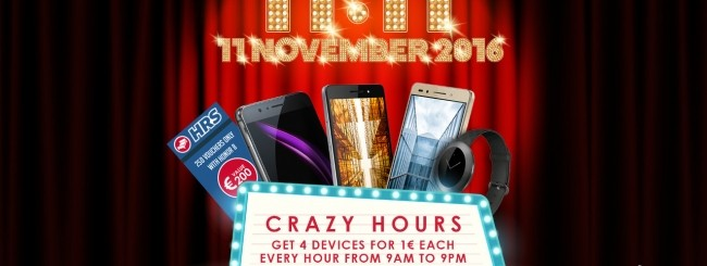 Honor, smartphone ad 1 uro l'11 novembre