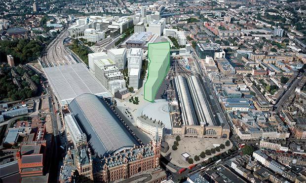 La nuova sede londinese di Google sorgerà tra St. Pancras e la stazione ferroviaria di King's Cross