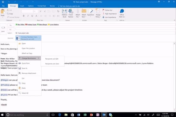 Office, Microsoft migliora la collaborazione