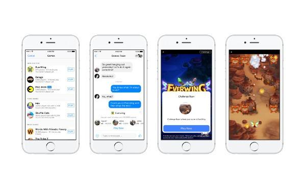 Facebook Messenger: si può giocare a Pac-Man