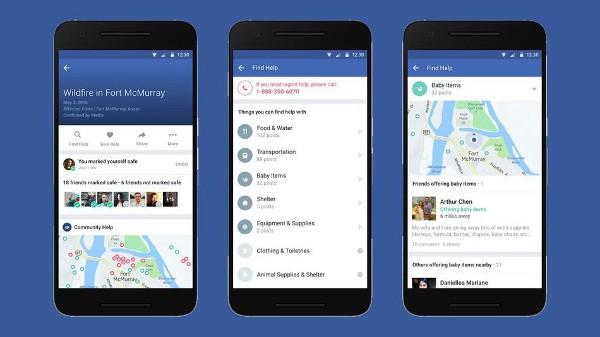 Facebook Community Help in aiuto degli utenti