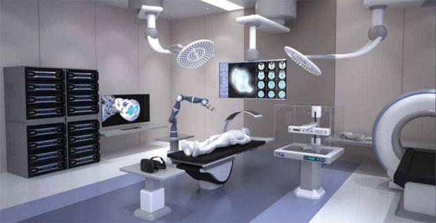 La sala operatoria del futuro immaginata dal Queensland University of Technology di Brisbane, in Australia
