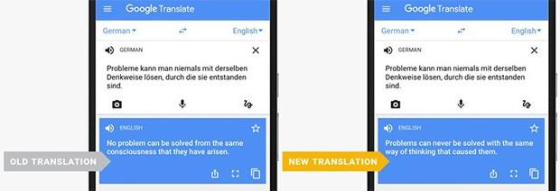 La tecnologia Neural Machine Translation integrata in Google Traduttore