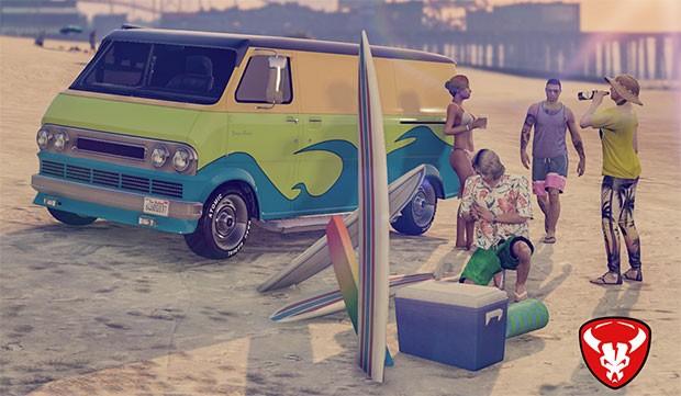 Il nuovo veicolo Bravado Youga Classic di GTA Online