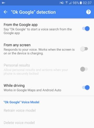 Il supporto all'interazione tramite il comando vocale Ok Google arriva sull'applicazione Android Auto