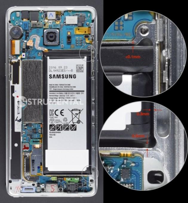 Galaxy Note 7 teardown