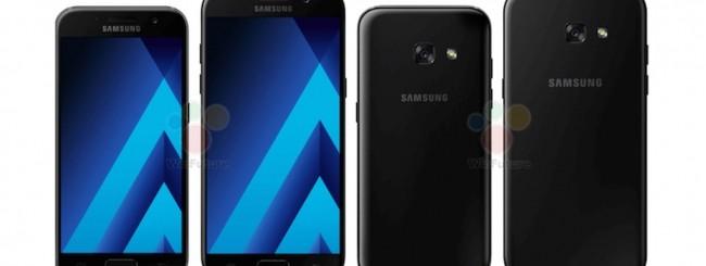 Samsung Galaxy A3-A5 (2017) leak