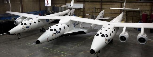 SpaceShipTwo e WhiteKnightTwo