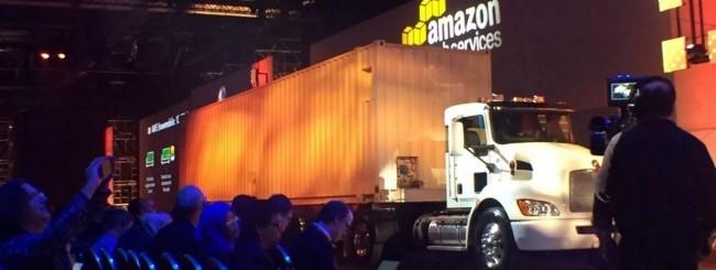 Amazon trasporta i dati sui camion