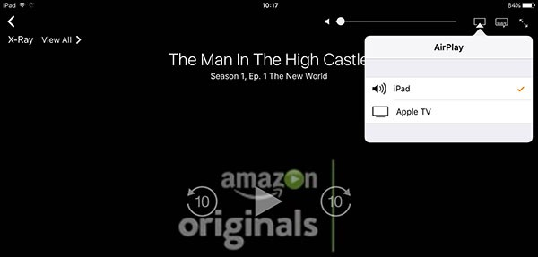 Amazon Prime Video, AirPlay