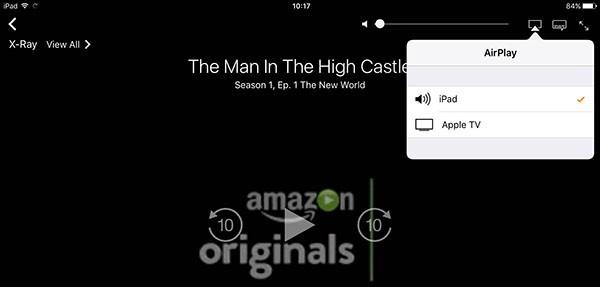 Amazon Prime Video, AirPlay
