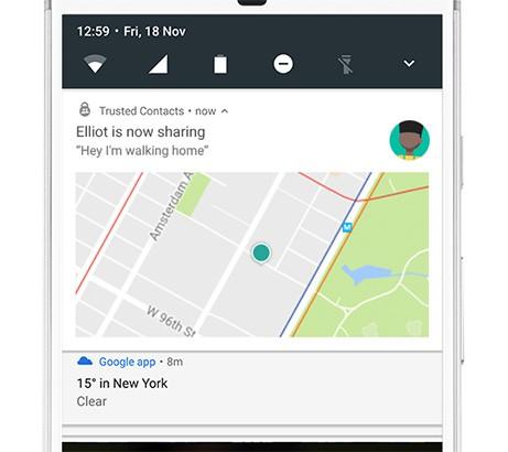"""L'app Contatti Fidati permette di """"accompagnare a casa"""" qualcuno da remoto in caso di necessità"""