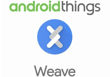 I loghi di Android Things e Weave