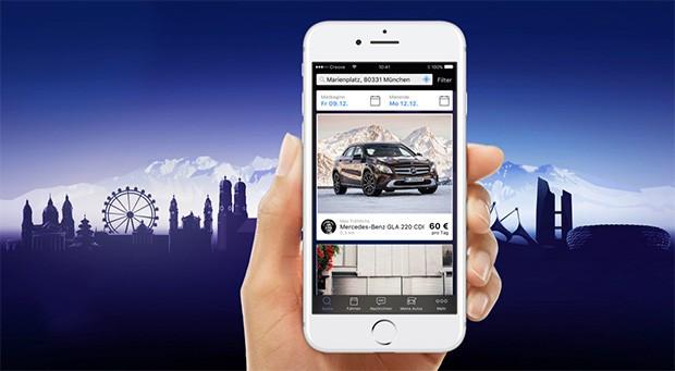 L'applicazione ufficiale del servizio Croove lanciato da Mercedes-Benz