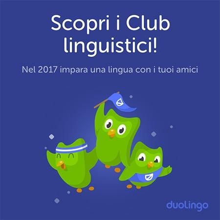 Duolingo annuncia l'arrivo dei Club Linguistici: imparare una nuova lingua diventa social