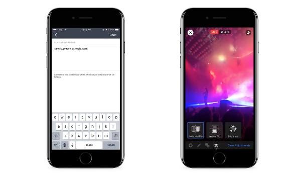 Facebook Live, nuovi strumenti per Mentions