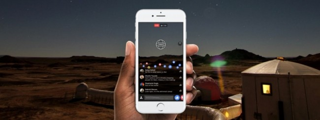 Facebook, arrivano i Live a 360 gradi